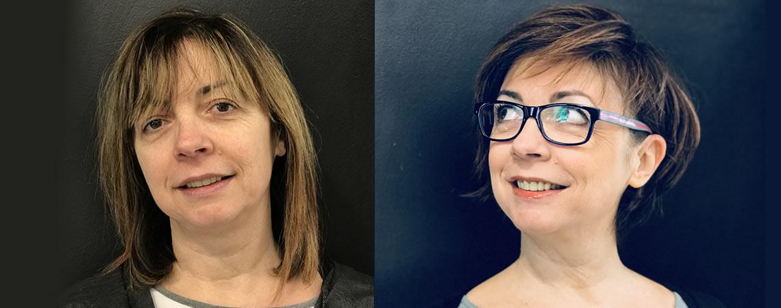 cambio taglio capelli